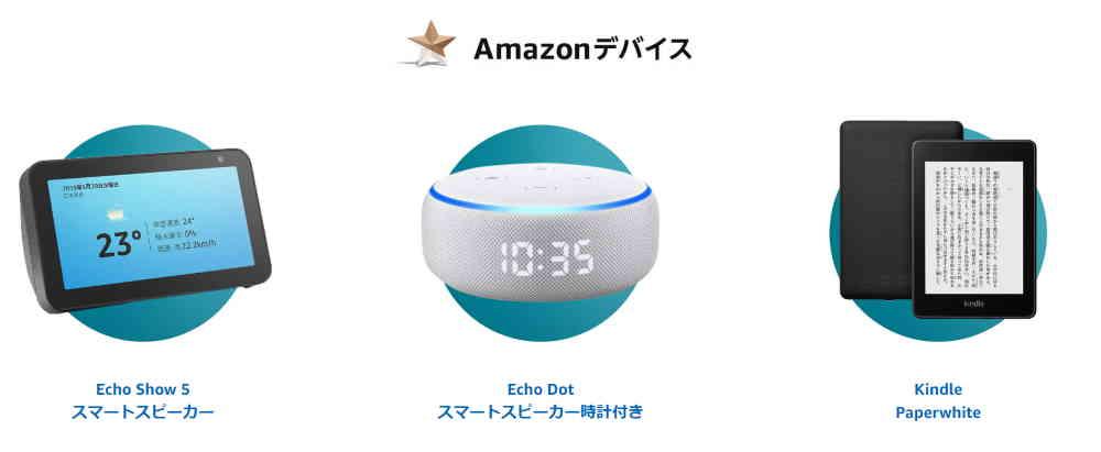 Amazonデバイス サイバーマンデーセール