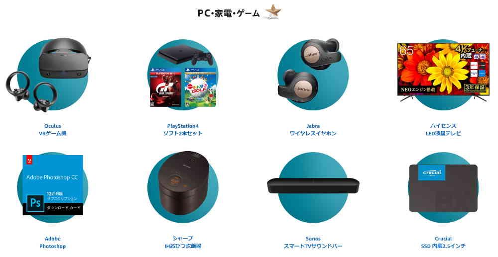 PC・家電・ゲーム サイバーマンデーセール